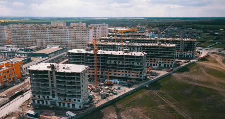 Отчет о строительстве ЖК «Светлоград», апрель, 2020г.