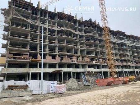 Отчет о строительстве ЖК «Все свои», декабрь, 2018г.