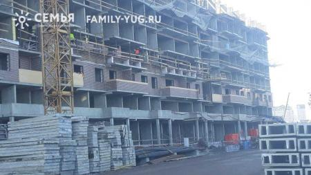Отчет о строительстве ЖК «Все свои», январь, 2019г.