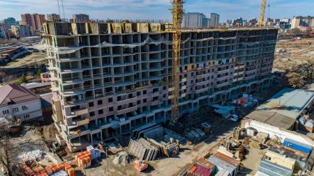 Отчет о строительстве ЖК «Все свои», март, 2019г.