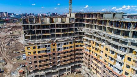 Отчет о строительстве ЖК «Все свои», апрель, 2019г.