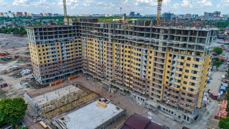 Отчет о строительстве ЖК «Все свои», май, 2019г.