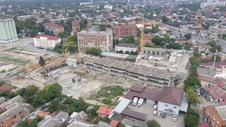 Отчет о строительстве ЖК «Все свои», август, 2019г.