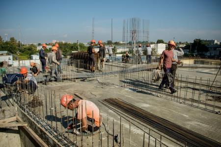 Отчет о строительстве ЖК «Фонтаны», сентябрь, 2018г.