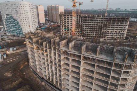 Отчет о строительстве ЖК «Фонтаны», декабрь, 2018г.