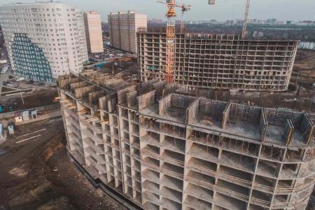 Отчет о строительстве ЖК «Фонтаны», январь, 2019г.