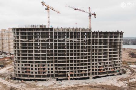 Отчет о строительстве ЖК «Фонтаны», февраль, 2019г.