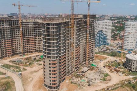 Отчет о строительстве ЖК «Фонтаны», май, 2019г.