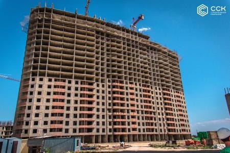 Отчет о строительстве ЖК «Фонтаны», июнь, 2019г.