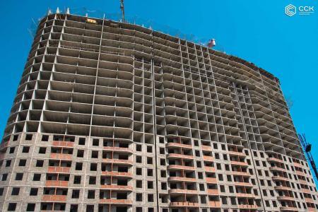 Отчет о строительстве ЖК «Фонтаны», июль, 2019г.