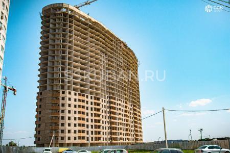 Отчет о строительстве ЖК «Фонтаны», август, 2019г.