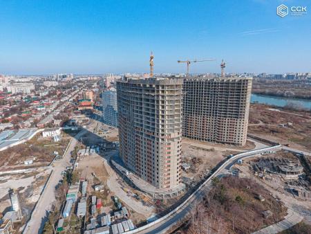 Отчет о строительстве ЖК «Фонтаны», ноябрь, 2019г.