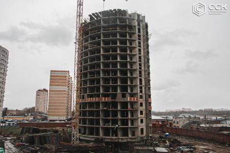 Отчет о строительстве ЖК «Фонтаны», февраль, 2020г.