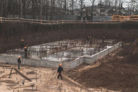 Отчет о строительстве ЖК «Открытие», январь, 2019г.