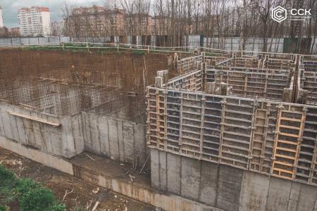 Отчет о строительстве ЖК «Открытие», апрель, 2019г.