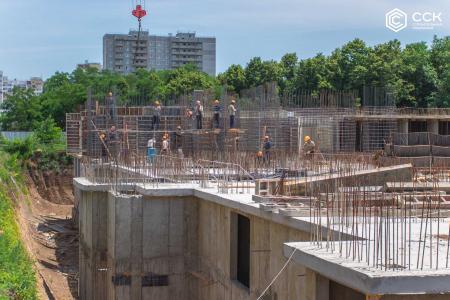 Отчет о строительстве ЖК «Открытие», май, 2019г.