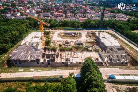 Отчет о строительстве ЖК «Открытие», июнь, 2019г.