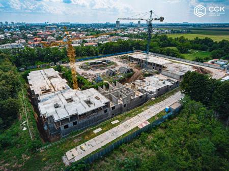 Отчет о строительстве ЖК «Открытие», июль, 2019г.
