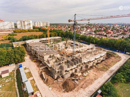 Отчет о строительстве ЖК «Открытие», сентябрь, 2019г.
