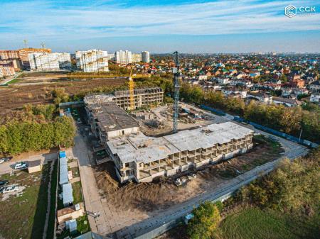 Отчет о строительстве ЖК «Открытие», октябрь, 2019г.