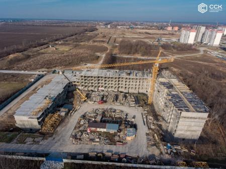 Отчет о строительстве ЖК «Открытие», ноябрь, 2019г.