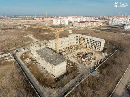 Отчет о строительстве ЖК «Открытие», январь, 2020г.