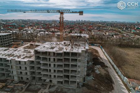 Отчет о строительстве ЖК «Открытие», февраль, 2020г.