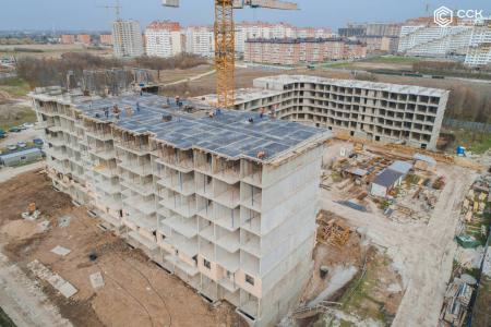 Отчет о строительстве ЖК «Открытие», март, 2020г.