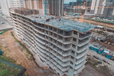 Отчет о строительстве ЖК «Лучший», май, 2019г.