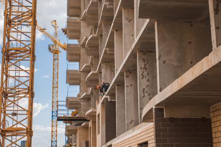 Отчет о строительстве ЖК «Лучший», апрель, 2020г.