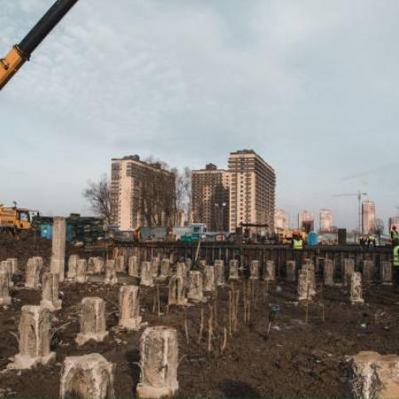 Отчет о строительстве ЖК «Поколение», февраль, 2019г.