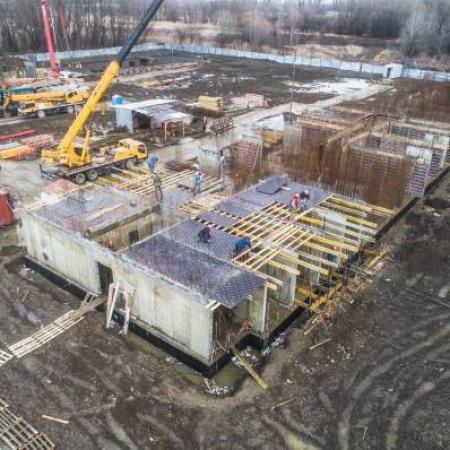 Отчет о строительстве ЖК «Поколение», март, 2019г.