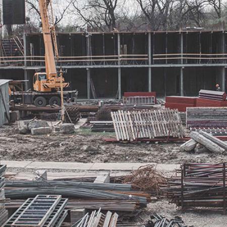 Отчет о строительстве ЖК «Поколение», апрель, 2019г.