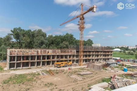 Отчет о строительстве ЖК «Поколение», май, 2019г.