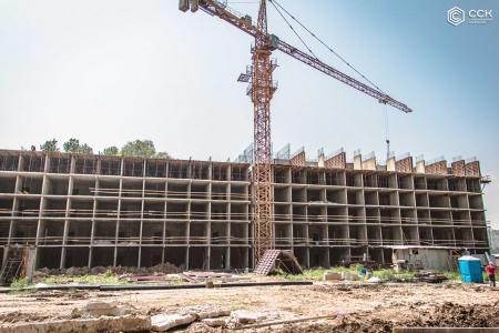 Отчет о строительстве ЖК «Поколение», июль, 2019г.