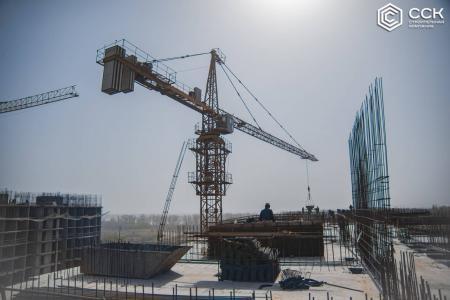 Отчет о строительстве ЖК «Поколение», март, 2020г.