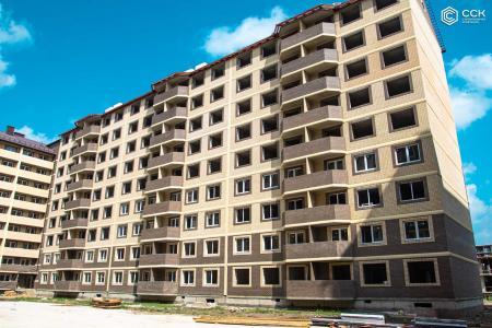 Отчет о строительстве ЖК «Дыхание», июль, 2019г.