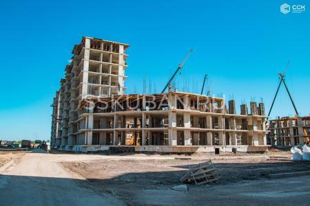 Отчет о строительстве ЖК «Дыхание», август, 2019г.