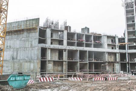 Отчет о строительстве ЖК «Сердце», март, 2019г.
