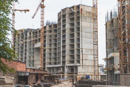 Отчет о строительстве ЖК «Сердце», апрель, 2019г.