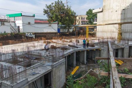 Отчет о строительстве ЖК «Сердце», май, 2019г.