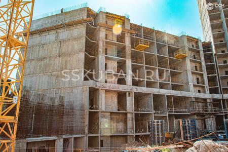 Отчет о строительстве ЖК «Сердце», август, 2019г.
