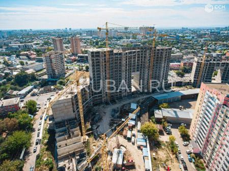 Отчет о строительстве ЖК «Сердце», сентябрь, 2019г.