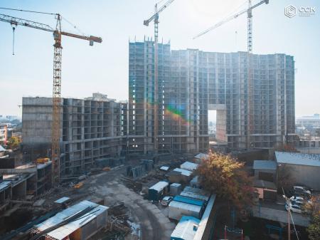 Отчет о строительстве ЖК «Сердце», октябрь, 2019г.