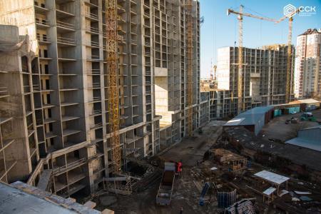 Отчет о строительстве ЖК «Сердце», февраль, 2020г.