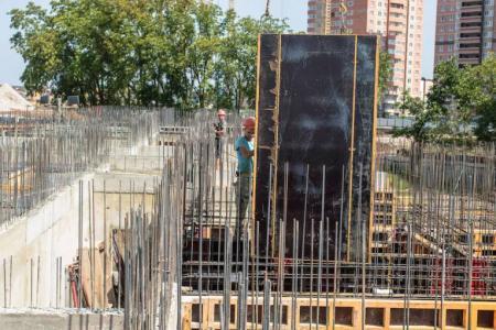 Отчет о строительстве ЖК «Свобода», сентябрь, 2018г.