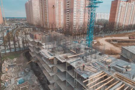 Отчет о строительстве ЖК «Свобода», апрель, 2019г.