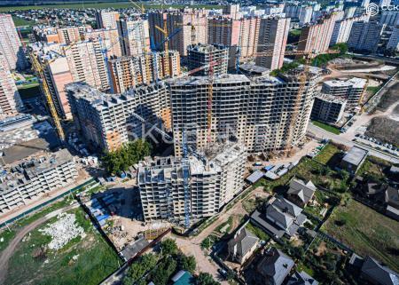 Отчет о строительстве ЖК «Свобода», август, 2019г.