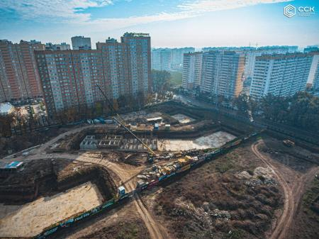 Отчет о строительстве ЖК «Свобода», октябрь, 2019г.