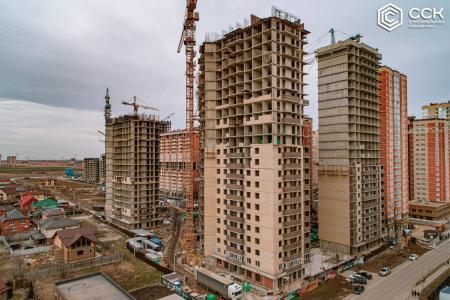 Отчет о строительстве ЖК «Свобода», февраль, 2020г.